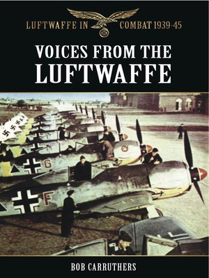 cover image of Voices from the Luftwaffe