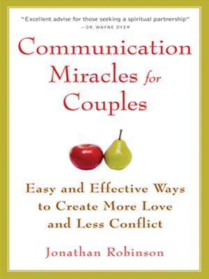 cover image of Communication Miracles for Couples