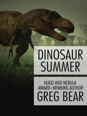 cover image of Dinosaur Summer