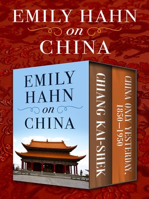 cover image of Emily Hahn on China