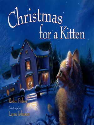 cover image of Christmas for a Kitten