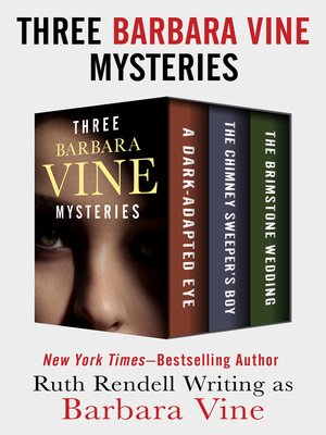cover image of Three Barbara Vine Mysteries