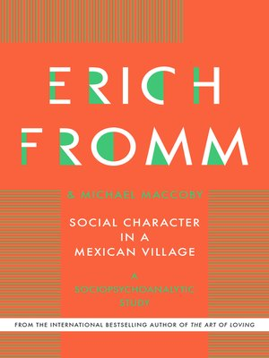cover image of Social Character in a Mexican Village