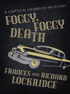 cover image of Foggy, Foggy Death