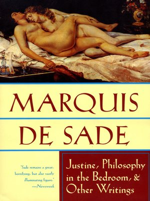 cover image of Justine, Philosophy in the Bedroom, & Other Writings
