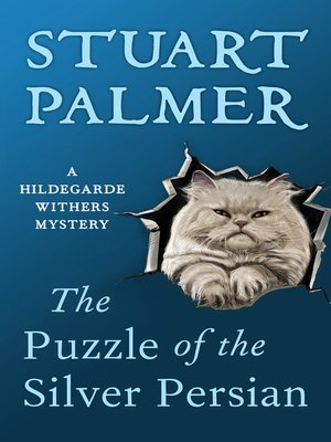 cover image of Puzzle of the Silver Persian