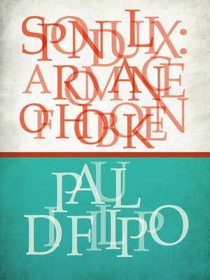 cover image of Spondulix