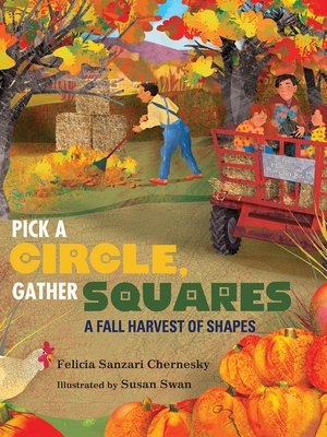 cover image of Pick a Circle, Gather Squares