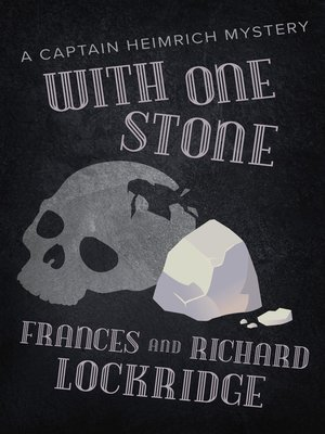 cover image of With One Stone