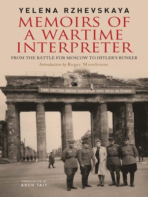 cover image of Memoirs of a Wartime Interpreter