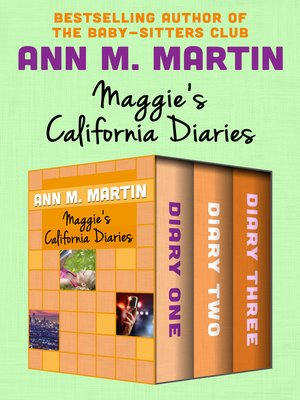 cover image of Maggie's California Diaries