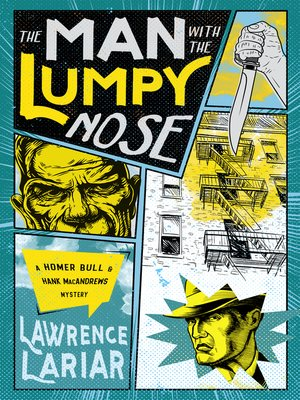 cover image of The Man with the Lumpy Nose