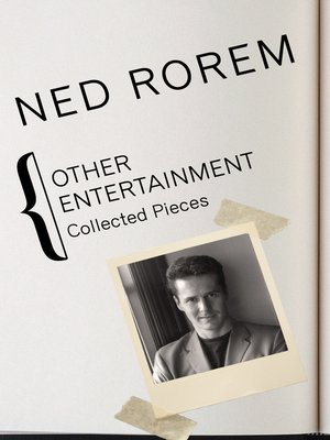 cover image of Other Entertainment