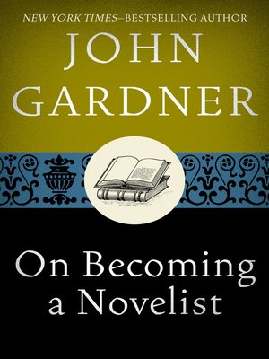 cover image of On Becoming a Novelist