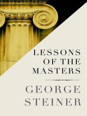 cover image of Lessons of the Masters
