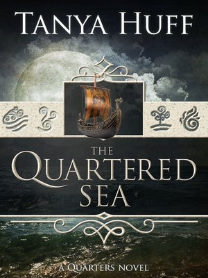 cover image of The Quartered Sea