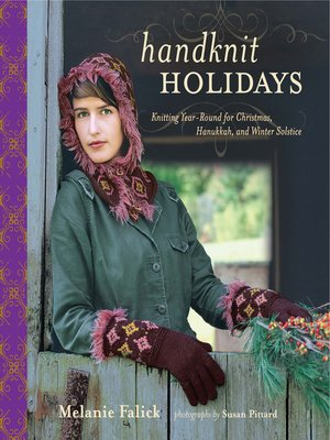 cover image of Handknit Holidays