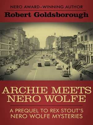cover image of Archie Meets Nero Wolfe