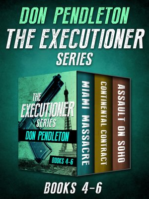 cover image of The Executioner Series Books 4–6