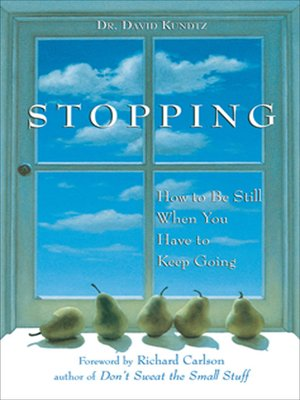 cover image of Stopping