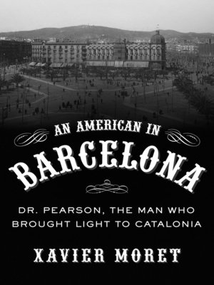 cover image of American in Barcelona