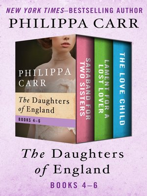 cover image of The Daughters of England Books 4–6