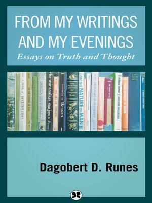 cover image of From My Writings and My Evenings