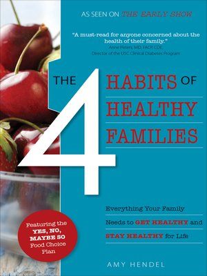 cover image of The 4 Habits of Healthy Families