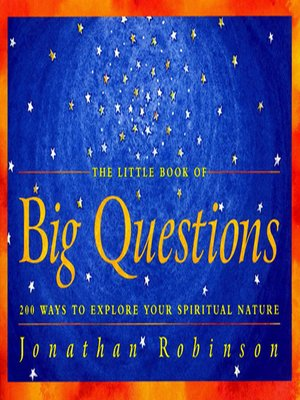cover image of The Little Book of Big Questions