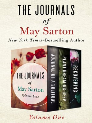 cover image of The Journals of May Sarton Volume One