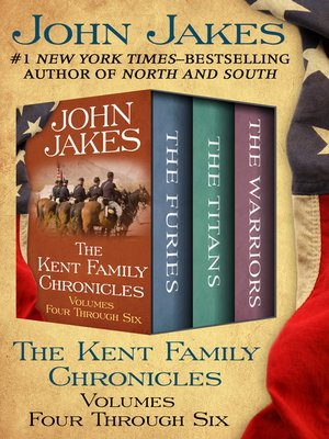 cover image of The Kent Family Chronicles Volumes Four Through Six
