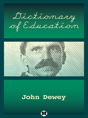 cover image of Dictionary of Education