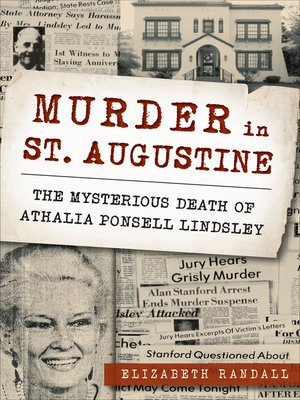 cover image of Murder in St. Augustine
