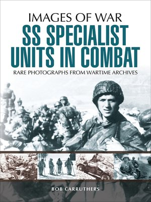 cover image of SS Specialist Units in Combat