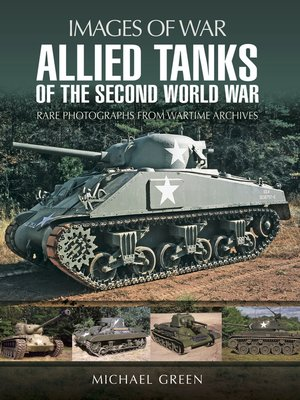 cover image of Allied Tanks of the Second World War