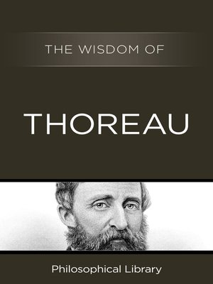 cover image of The Wisdom of Thoreau