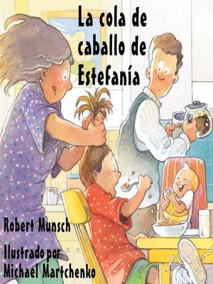 cover image of cola de caballo de Estefanía