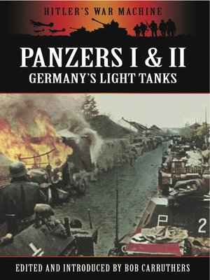 cover image of Panzers I & II