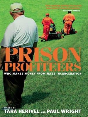 cover image of Prison Profiteers