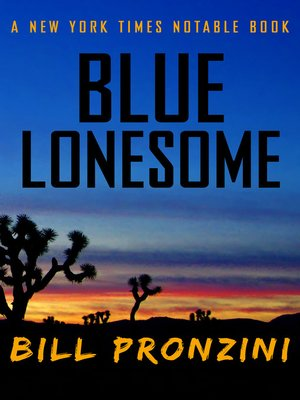 cover image of Blue Lonesome