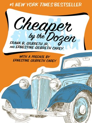 cover image of Cheaper by the Dozen