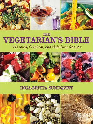 cover image of The Vegetarian's Bible