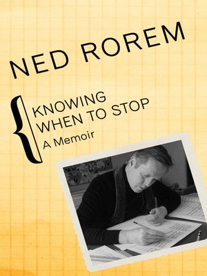 cover image of Knowing When to Stop