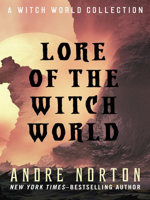 cover image of Lore of Witch World