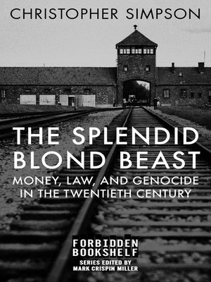 cover image of The Splendid Blond Beast