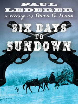 cover image of Six Days to Sundown