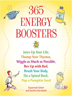 cover image of 365 Energy Boosters