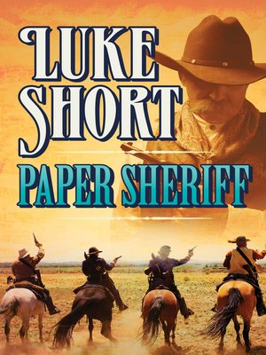 cover image of Paper Sheriff