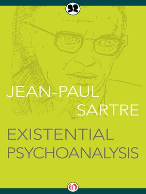 cover image of Existential Psychoanalysis