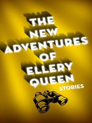 cover image of The New Adventures of Ellery Queen